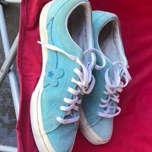 Converse Le Fluer Golf shoes men's size 9 1/2.